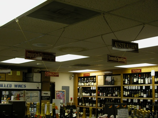 Organization of Avon Liquors wines
