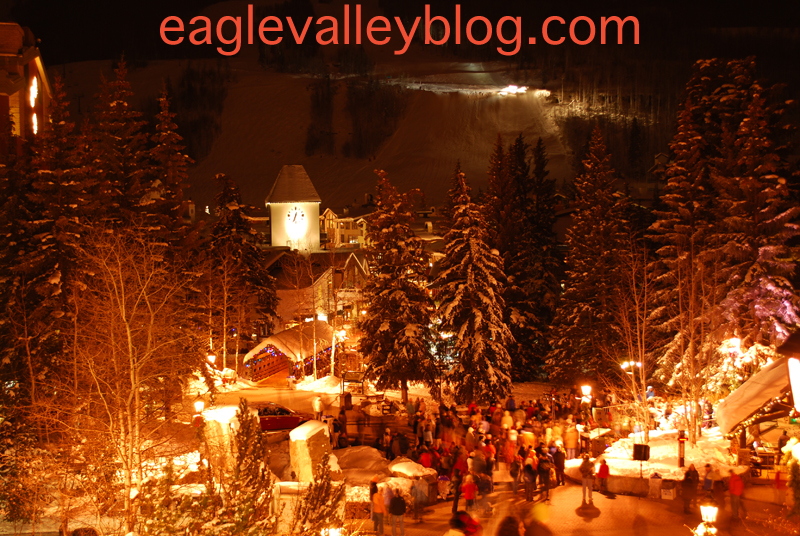 2008 Vail Village tree Lighting