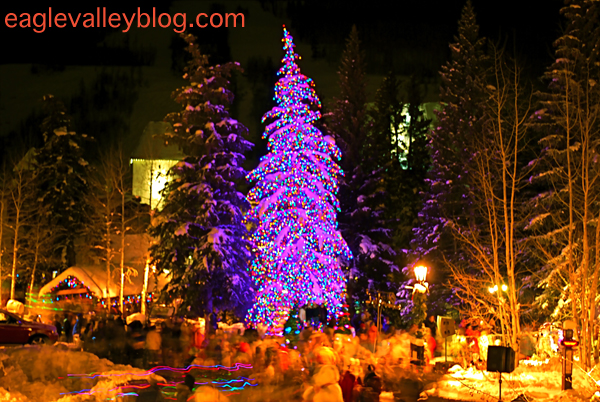 2008 Vail Village Christmas Tree Lighting