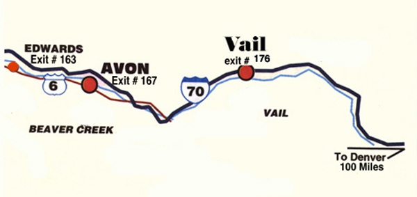 2009 Vail Lacrosse Shootout Map